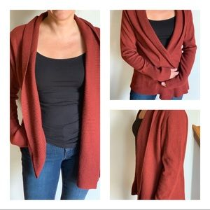 Banana Republic Cardigan In Brick Red XL